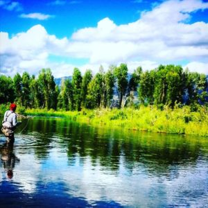 South Fork of the Snake River fishing