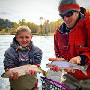 South Fork Fishing Report / Double Rainbow