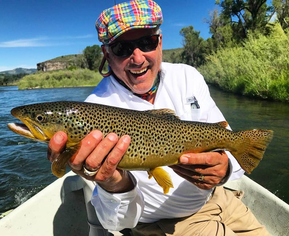 south fork of the snake fishing report - brown trout