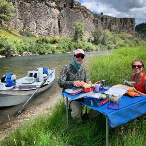 south fork river lunch